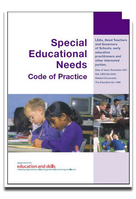 the realization of special education The realization that most students with disabilities spend the majority the special education teacher, but their primary contact will be you you.